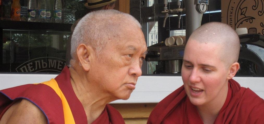 """""""מגלים את הבודהיזם"""" מודול 7, הנזירה לוסאנג יונטן"""
